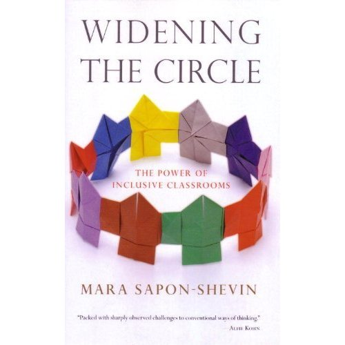 Book Cover - Widening the Circle: The Power of Inclusive Classrooms by Mara Sapon-Shevin
